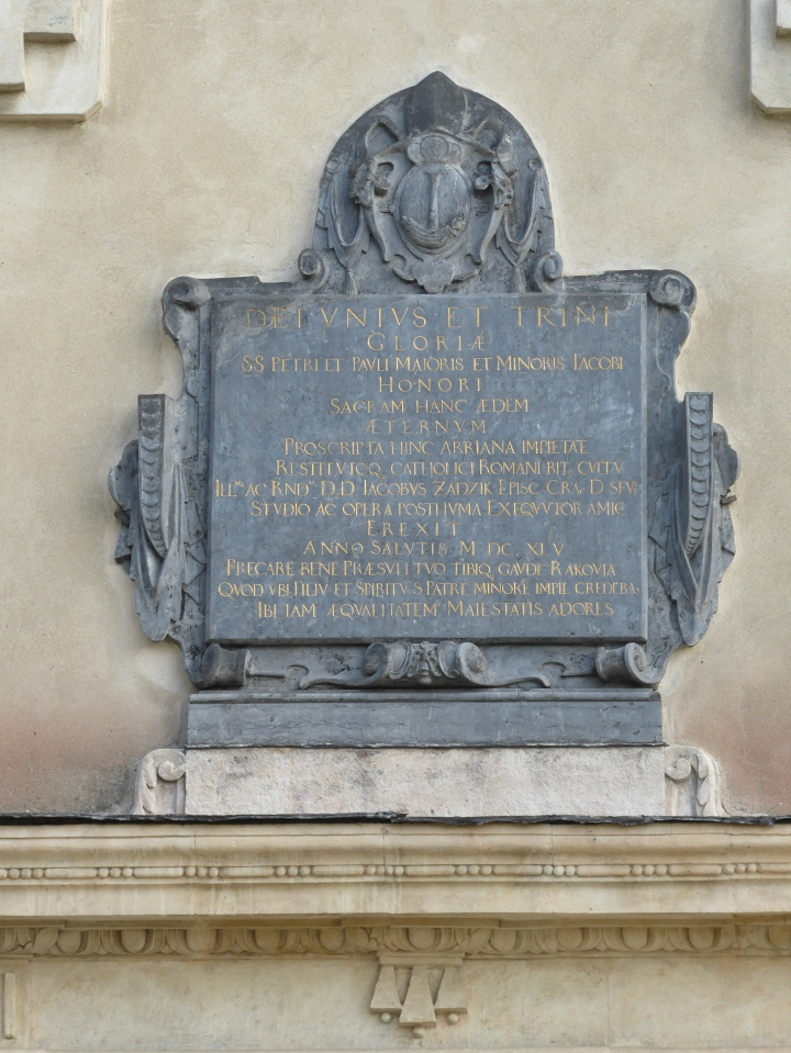 Rakow church tablet