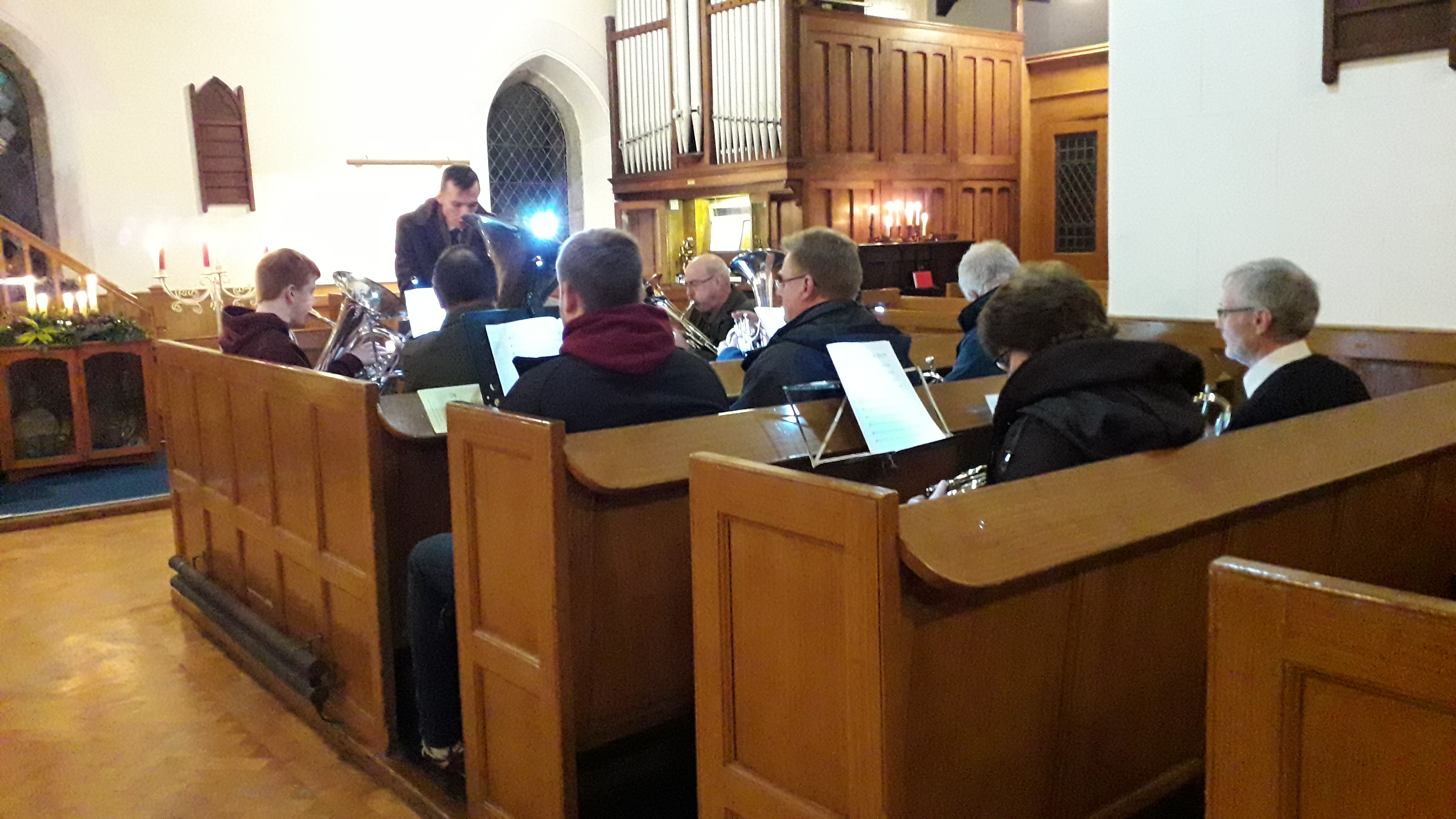 Ballee Candlelight Carol Service 2019 band 01