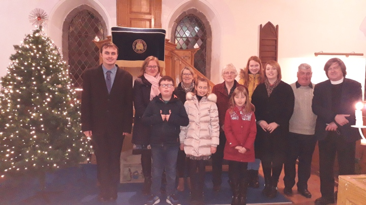 Ballee Candlelight Carol Service 2019 readers