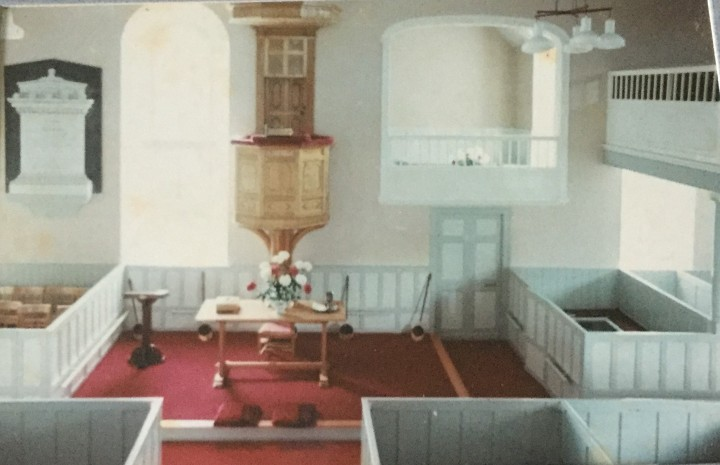 Church renovations 1967