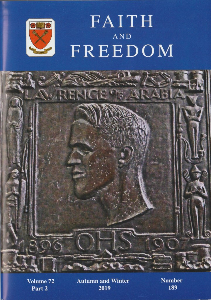 Faith and Freedom Cover 2019