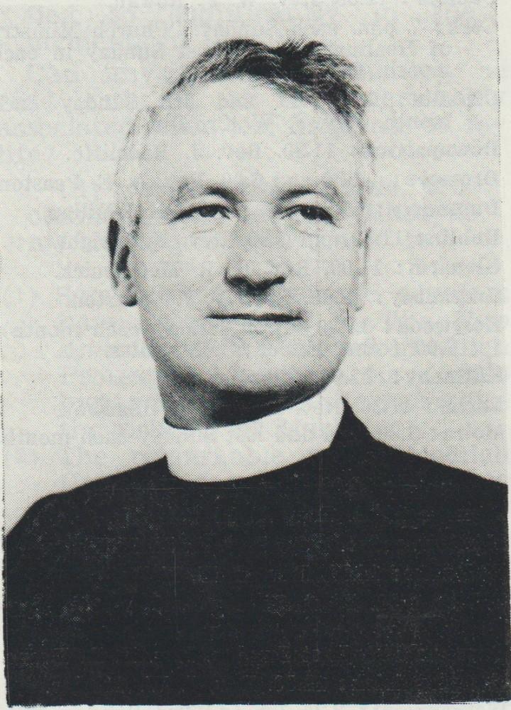 Rev Tom Banham 1971
