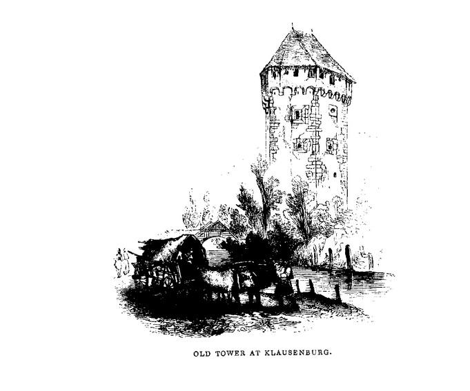 Old tower at Klausenberg