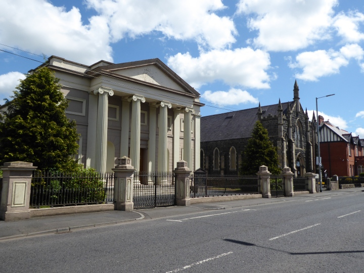 Banbridge with Methodist church second