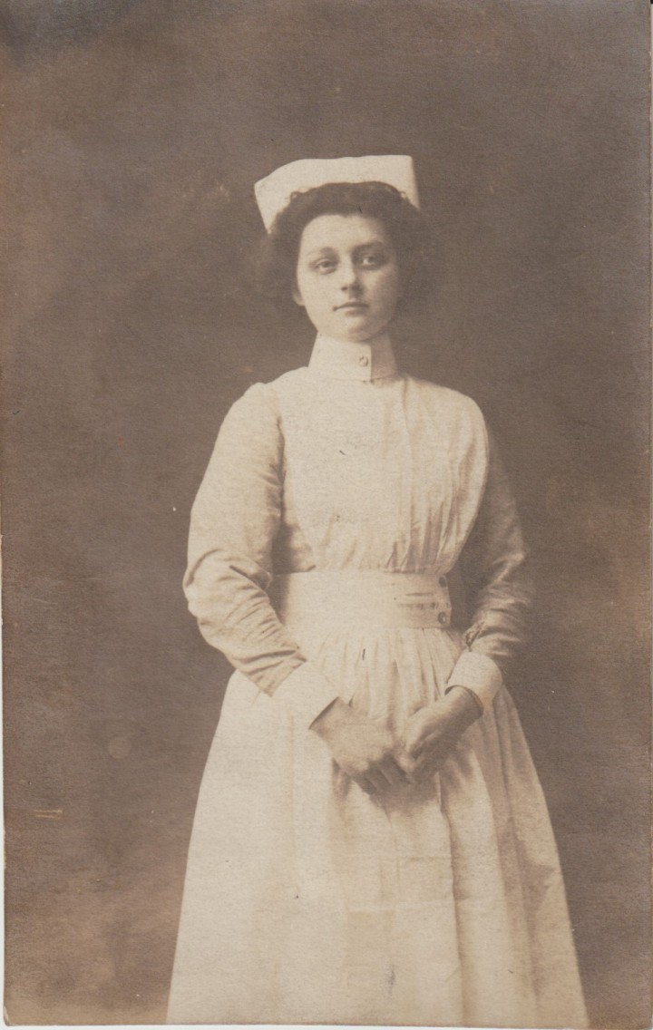 Edwardian Nurse Postcard